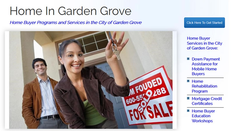 Home in Garden Grove