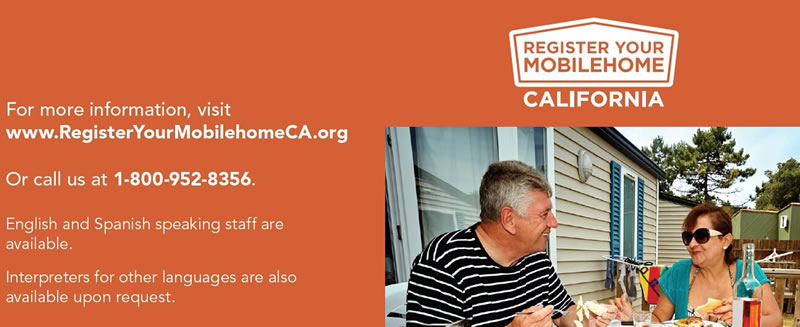 Register Your Mobilehome