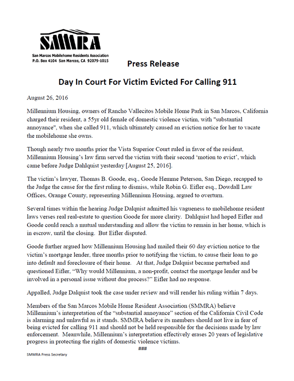 SMMRA Press Release 20160826