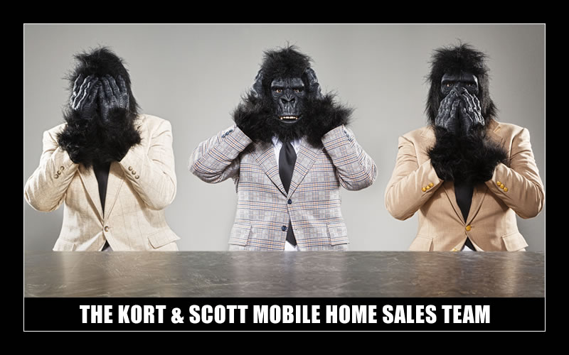 THE KORT & SCOTT MOBILE HOME SALES TEAM