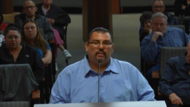 Carson Mobilehome Rental Review Board Meeting - Resident Speaker 1