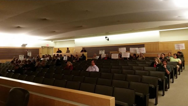 Corona City Council Meeting - Audience