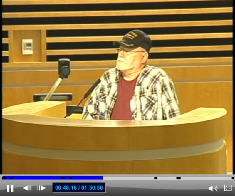 Corona City Council Meeting - Resident Speaker 1