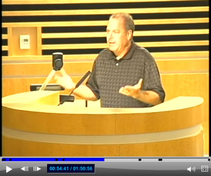 Corona City Council Meeting - Resident Speaker 2