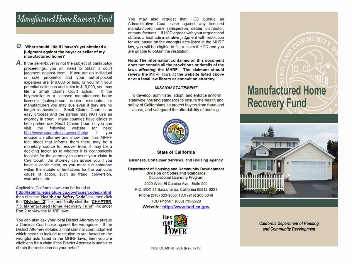 mobile home parks - unlawful detainer lawsuits - kort & scott