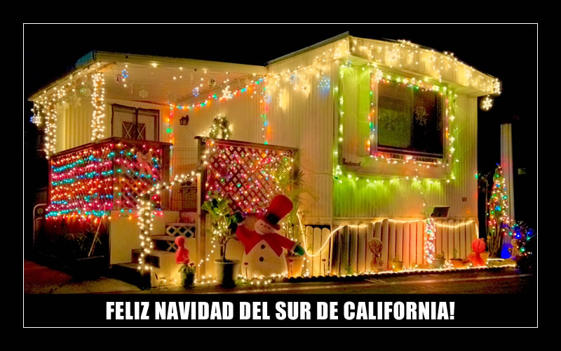 FELIZ NAVIDAD DEL SUR DE CALIFORNIA!