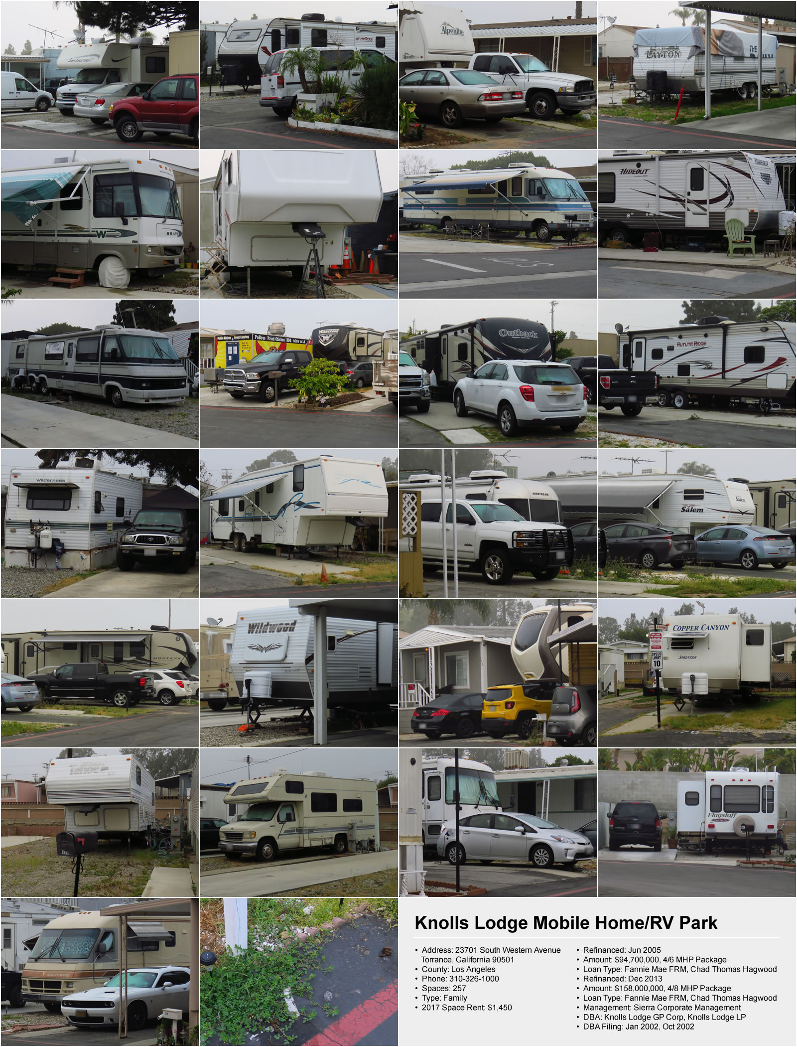 Knolls Lodge Mobile Home RV Park