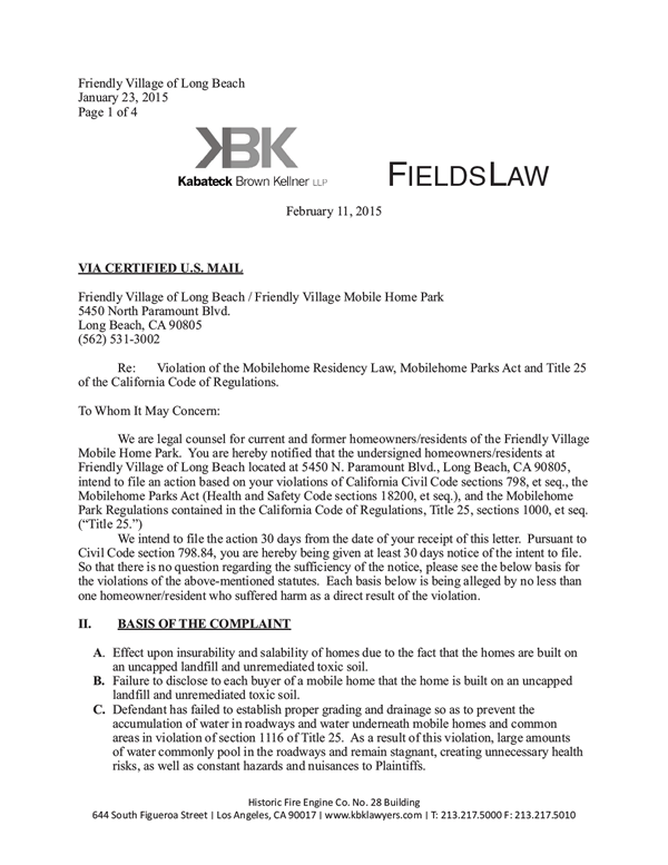 167 798 84 Notice Of Lawsuit For Failure To Maintain