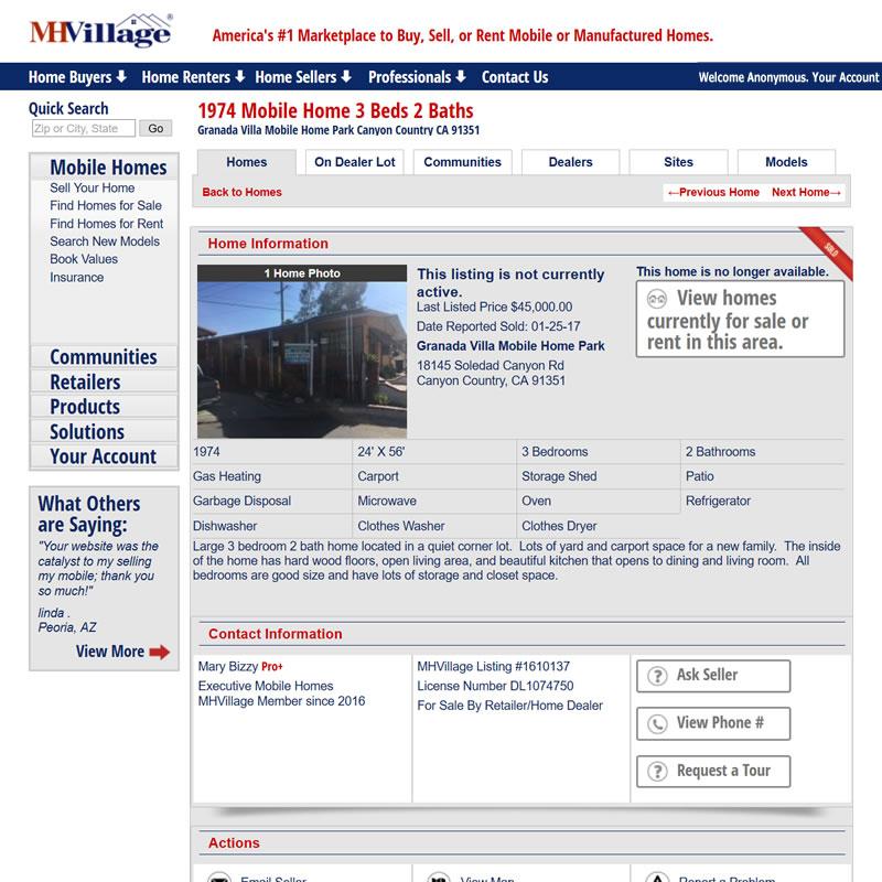 MHVillage Listing #1610137