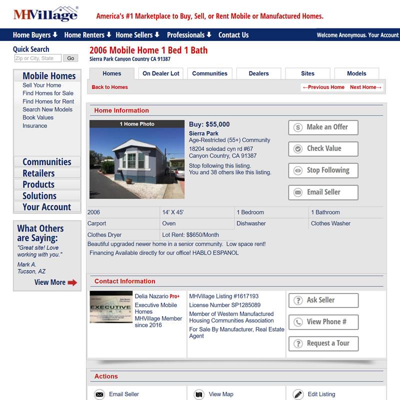 MHVillage Listing #1617193