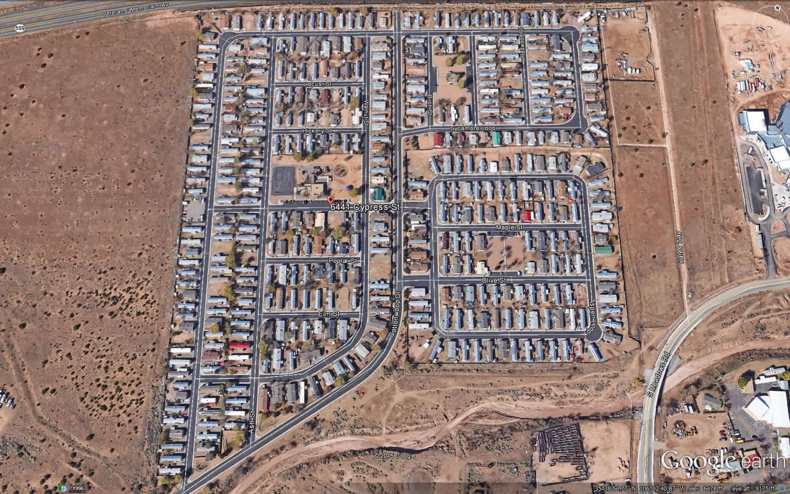 Cottonwood Village Mobile Home Park 1