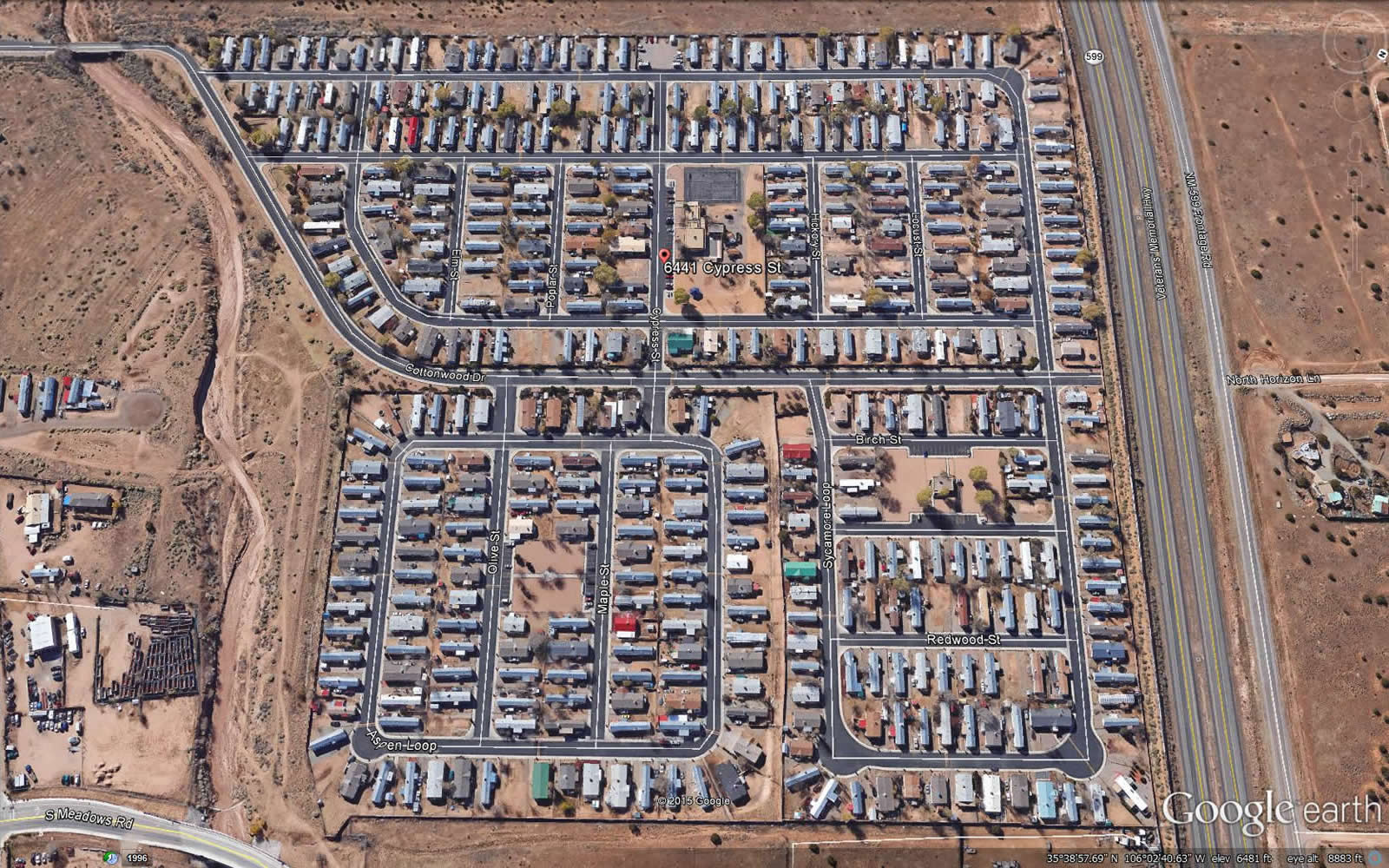 Cottonwood Village Mobile Home Park 3