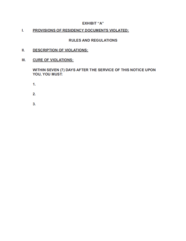 Sierra Corporate Management Seven (7) Day Notice Page 4