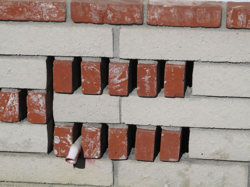 Decorative Brickwork Foundation Vents